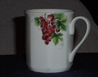 Royal Doulton China Vintage Grape Mug