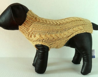Beige Small Dog Sweater