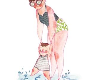 Summer Time Fun - Nursery Decor