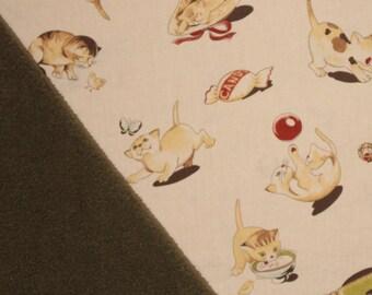 Kittens playing! Cat Blanket, Pet Blanket, Cat Bedding, Kitten Blanket, Kittens, Fleece Cat Blanket, Cotton Blanket