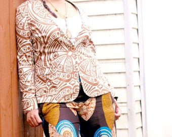 African Wax Print Pants