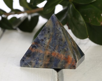 Blue Sodalite Crystal PYRAMID