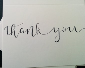 Thank You Cards, Wedding Thank You Cards, Custom Thank You Cards