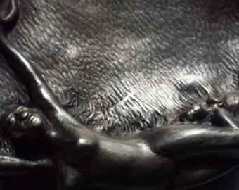 Bronze Vide Poche Art Nouveau/Jugendstil