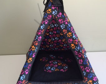 Handmade Cat/Small Dog Teepee Made to order
