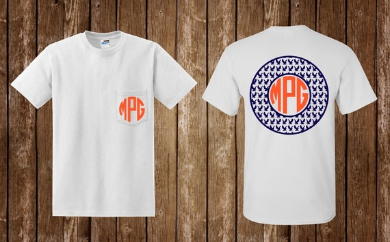 Auburn shirt auburn monogram war eagle by theturquoisetulipal for Auburn war eagle shirt