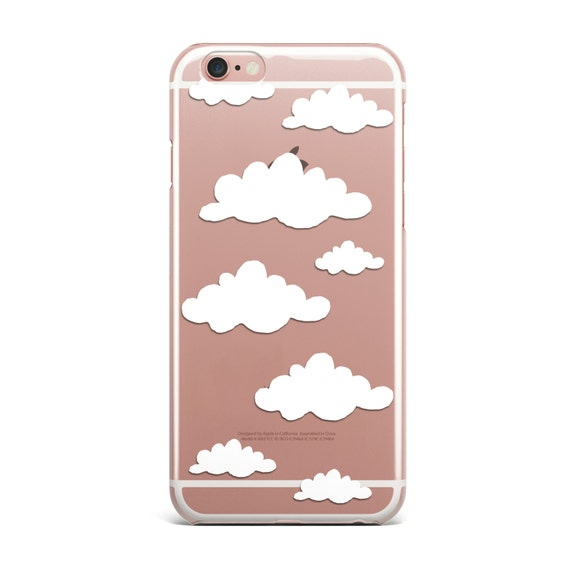 Clouds Iphone Case Clear Transparent Cloud Phone Cases Cover