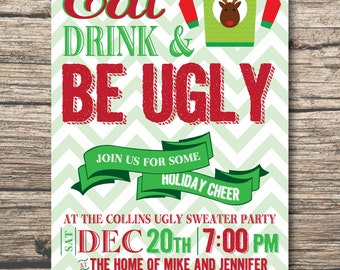 Image result for ugly christmas sweater party