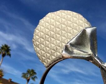 Spaceship Earth Inspired Ears