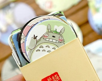 Totoro Sticker Box Set, Kawaii Cartoon Cat and Friends Labels