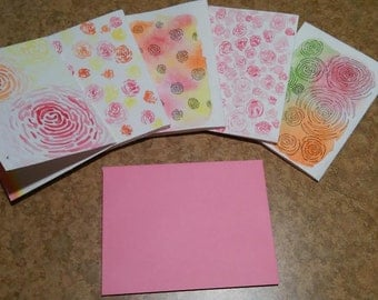 Paper Roses Notecards