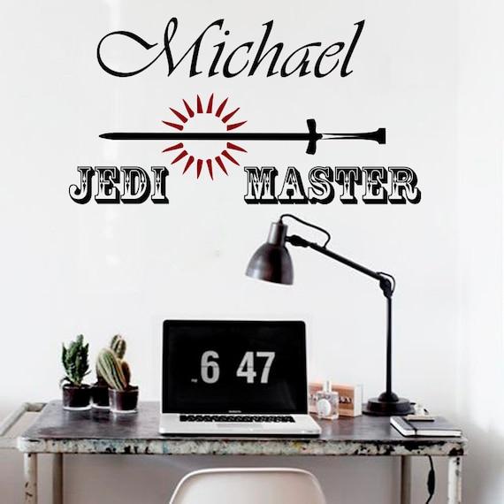 Jedi Master Yoda Quotes: Wall Decals Jedi Master Yoda Quote Star Wars Custom