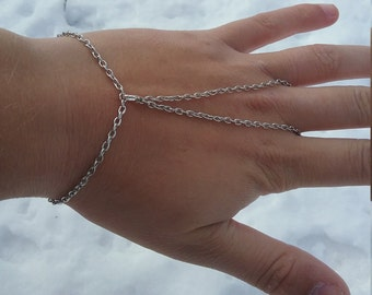 Simple Teardrop Slave Bracelet