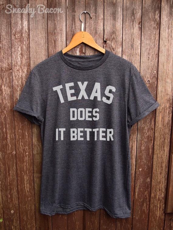 Texas Tshirt Texas Shirt Houston Tshirt I Love Texas