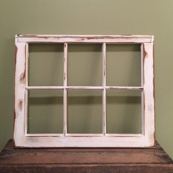 Vintage Window Frame Distressed Window Frame Window Frame