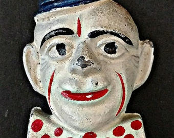 1950s Vintage Circus Clown Trinket Toy Lot