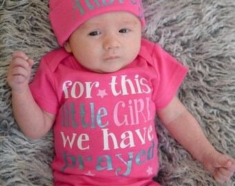 Newborn girl Coming home out fit, girl going home - Baby shower gift - baby girl take home outfit - Newborn photo prop, newborn girl