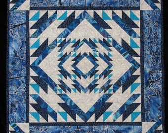 Winter's Path Quilted Wall-hanging ~ Free Shipping