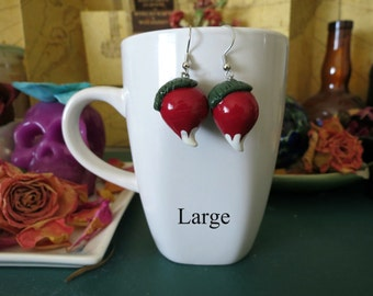 Luna Lovegood Inspired Radish Earrings
