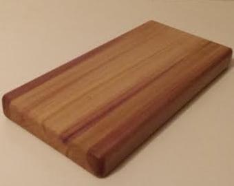 """Cutting Board - """"Purple Streaks"""""""