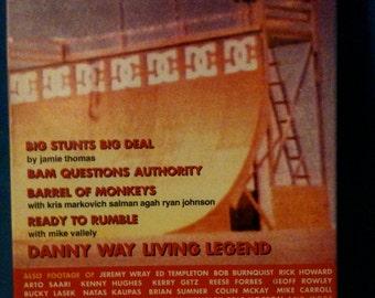 "On Video Skateboarding ""Summer 2000 Premiere Issue VHS / Rare Skate Video / Skateboarding / Vallely / Danny Way"