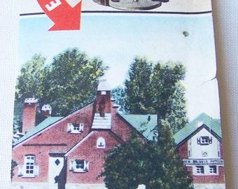 Vintage Travel Brochure - Van Briggle Art Pottery - Colorado Springs, Colorado