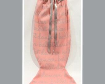 Ballerina Mermaid Napping Bag