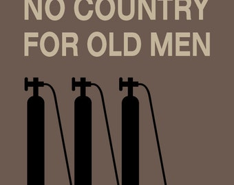 No Country For Old Men - movie print