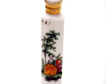 Antique Perfume Bottle Bohemian Scent Bottle Milchglas 18th Century