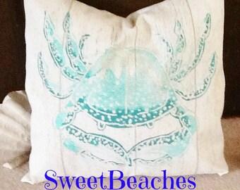 Beach Pillow Covers Seaside Ocean Coastal Nautical Decor