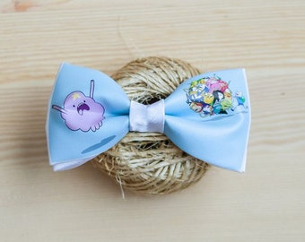 Blue Adventure Time Bow Tie \ Галстук-бабочка Adventure Time Blue