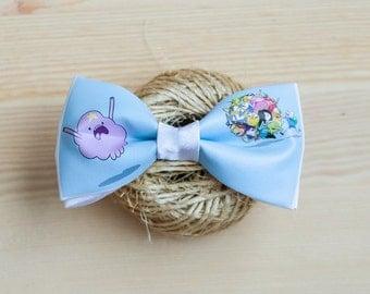 Blue Adventure Time Bow Tie \ Галстук-бабочка Adventure Time Blue