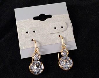 Simple Sparkling Earrings
