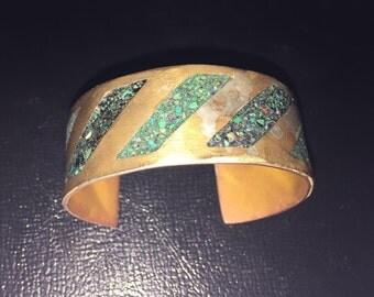 Stone Inlaid Bracelet