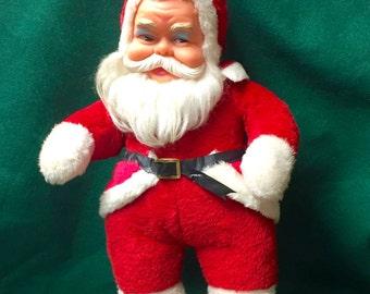 Vintage Stuffed Santa Clause / Kris Kringle for Coca-Cola 1950s
