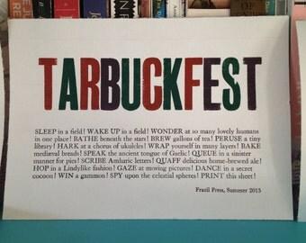 Tarbuckfest 2015 Print
