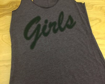 Girls Printed Tank Tops