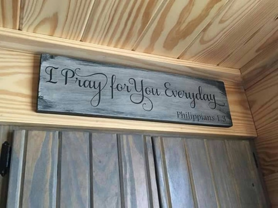 Christian Home Decor Philippians Sign By Winfreyhomedesigns