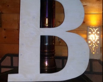 Big custom wood letters for home decor, furniture, celebrations, anniversaries, wedding day, gift ideas, etc.