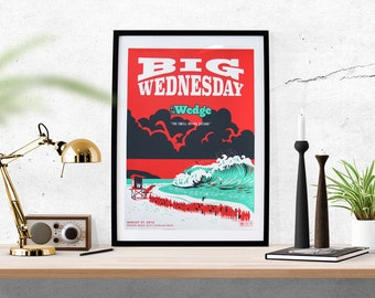 Big Wednesday - The Wedge Poster