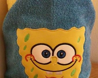 SpongeBob Square Pants Hooded Towel