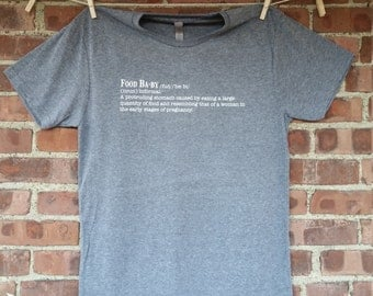 Food Baby Definition Tee - Men's