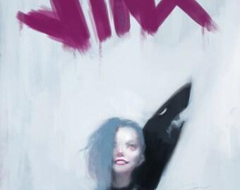 Jinx Art Print (League of Legends)