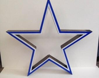 Handmade Wooden Cowboy Star - SOLD