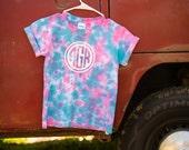 Items similar to tie dye toddler shirt with vinyl circle for T shirt printing cartersville ga