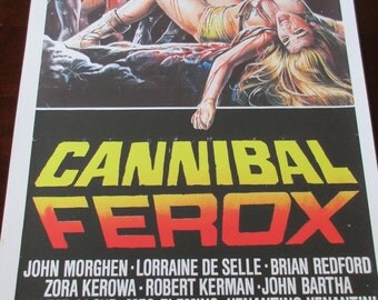 Cannibal Ferox Movie Poster 24x36in