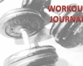 Workout Journal - fitnesss planner. A5 size.