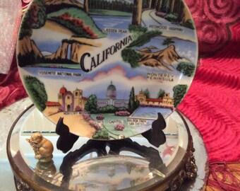 California plate/ Souvenir plate
