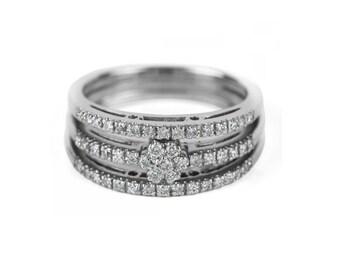 Diamond band, Wedding band, Diamond ring, Wedding ring, Diamond wedding ring, Diamond wedding band, Woman wedding ring, Woman wedding band