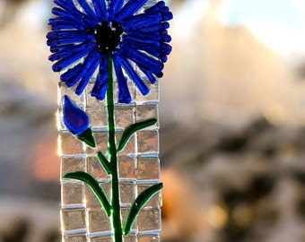 Blue Flower Suncatcher